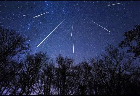 ペルセウス座流星群・・・