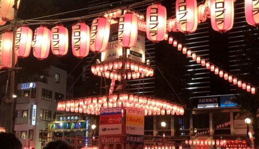 恵比寿納涼盆踊大会