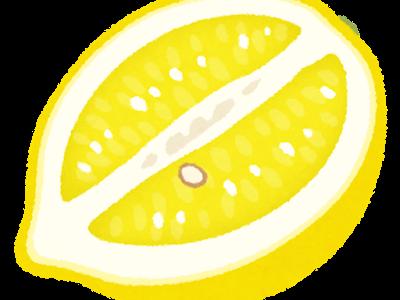 おすすめ!「朝一杯のレモン水」